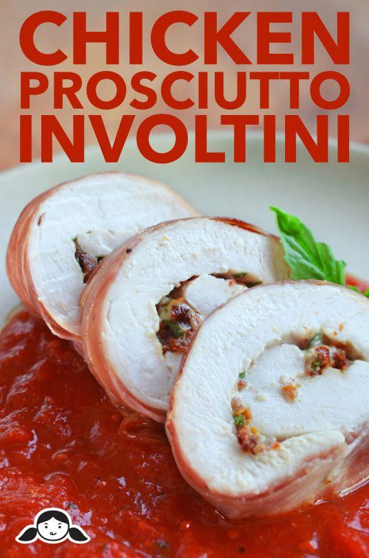 Chicken Prosciutto Involtini FoodBlogs.com
