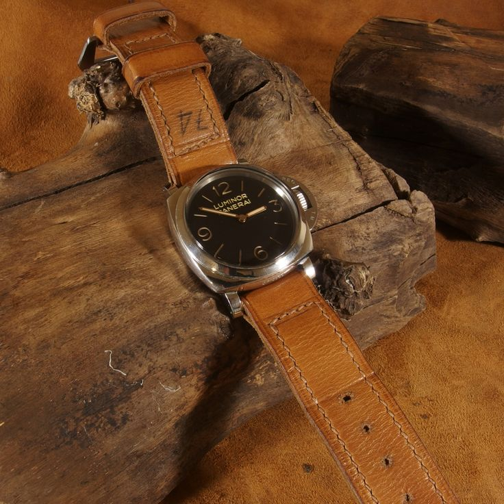 I used the same traditional techniques as the historical genuine Panerai straps worn by the frogmen of the Italian Navy during the WWII. So the final result is 1:1 the same. Features of this series include: -Rare and premium cowhide. -Historical folding technique at the short part of strap. -Double-hand saddle stitching technique. -Multilayer vintage technique so the strap becomes more durable in the lugs area. -I use only top of the crop linen threads. -Special hand-aged finishing using…
