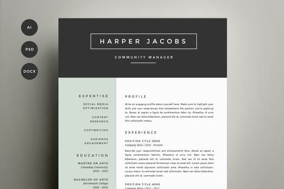 1000  ideas about exemple de cv original on pinterest