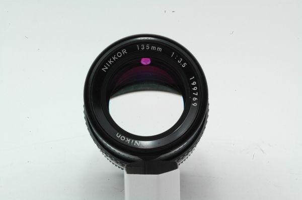 Lensa Manual Nikon Nikkor 135mm f/3.5 Ai.,.,Mantabbb!!