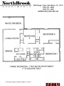 17 best images about northbrook apartments tuscaloosa - 3 bedroom apartments birmingham al ...