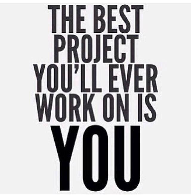 Pinterest: @ndeyepins | Le meilleur projet sur lequel vous n'aurez jamais travailler est vous.