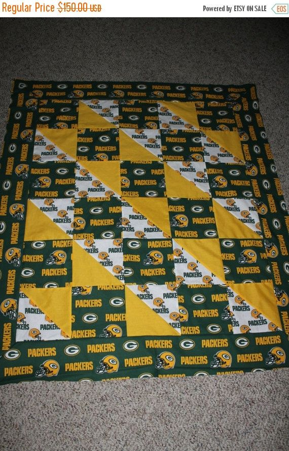 SALE Custom Sports Team Quilts Any Size Any Team by carsondesign