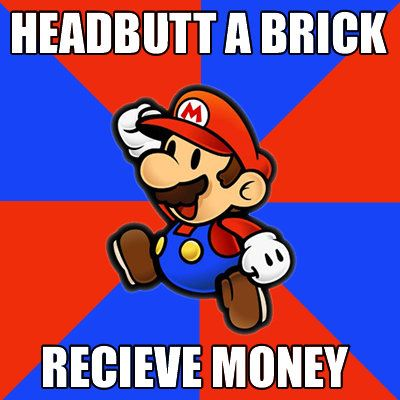 50 Funniest Mario Memes You WIll Ever See « GamingBolt.com: Video Game News, Reviews, Previews and Blog