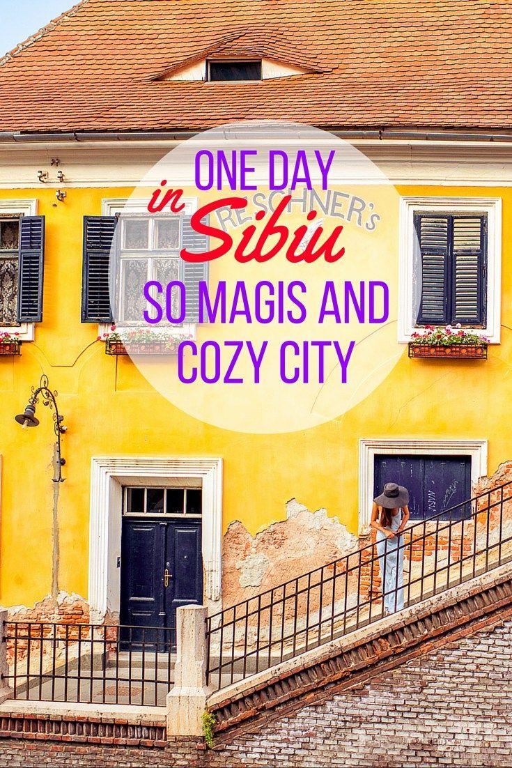 The magical city of Sibiu in Romania