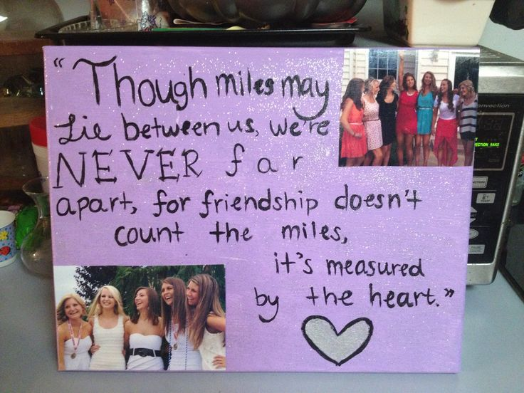 Friend Quotes On Canvas : Canvas art friendship quotes arts and crafts
