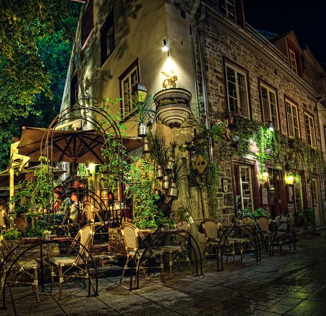 Lapin Saute in Quebec City (really good restaurant)                                                                                                                                                                                 More