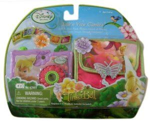 Disney Princess Tinker Bell Talk'n View Camera - Toy Camera by disney. $26.05