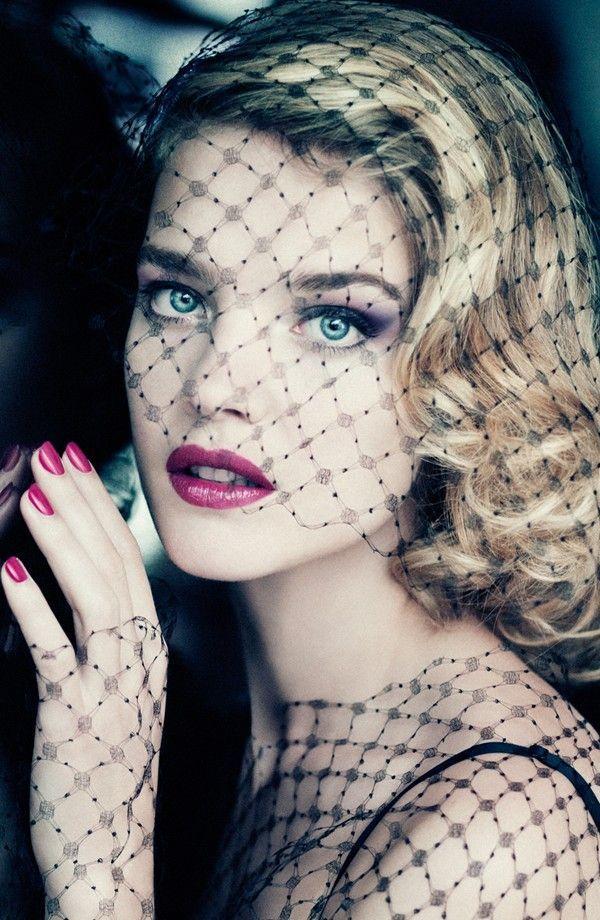 Sultry & seductive. Guerlain Voilette de Madame Collection.