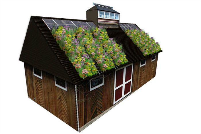 A green roof could reduce annual energy demand by more than 30 per cent when compared to a standard BCA compliant metal deck roof.