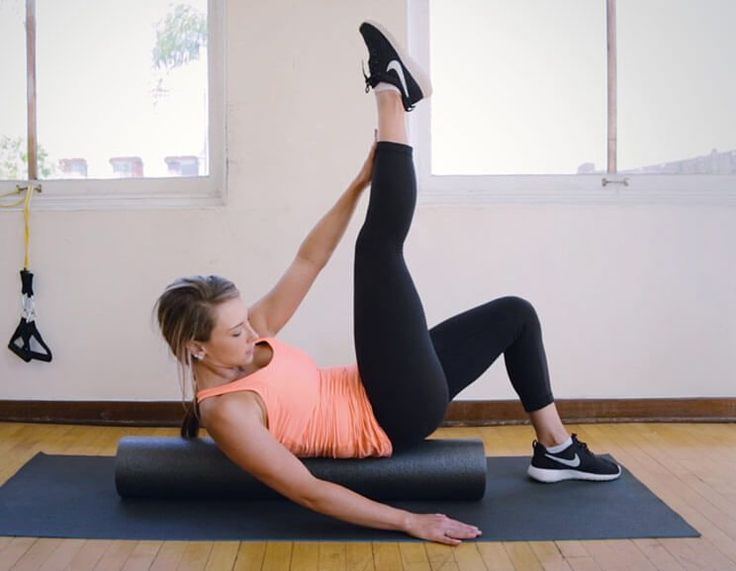 8 Foam Roller Exercises to Flatten Abs