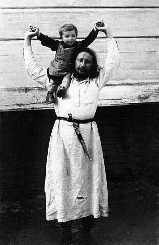 Pavel florenskij and his son