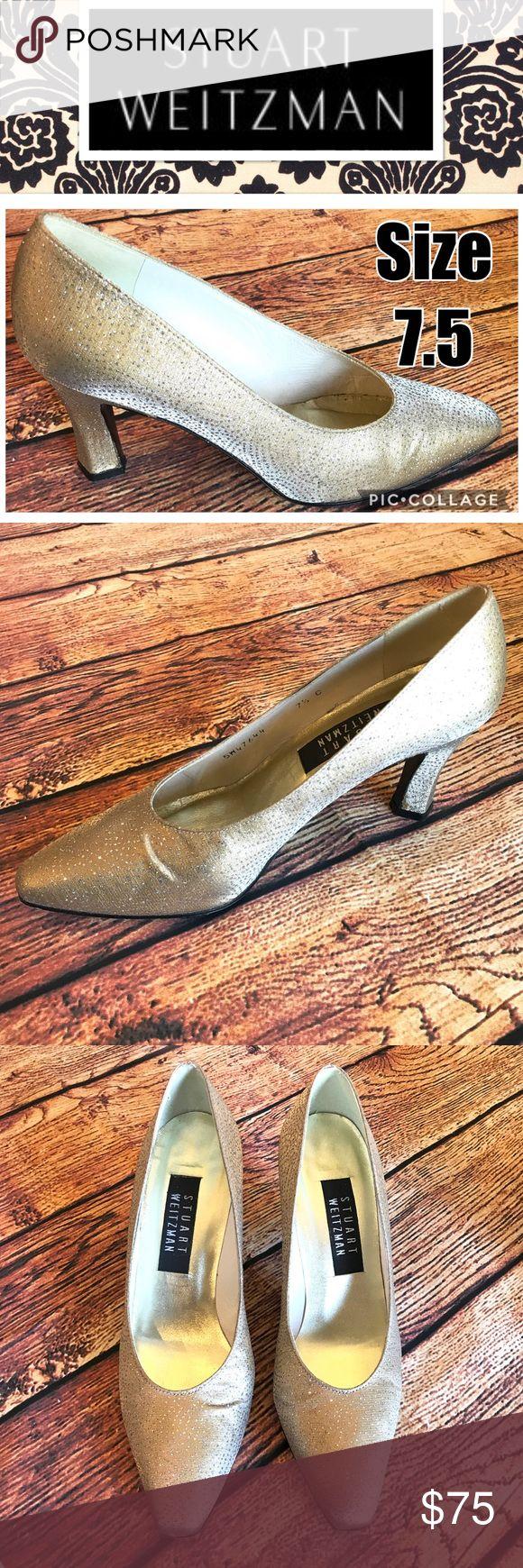 Stuart Wiseman Shimmery Hold Heels Size 7.5 SO pretty! Stuart Weitzman Shoes Heels