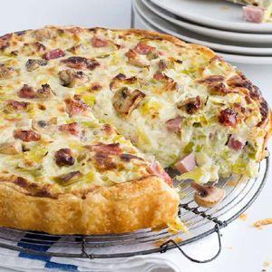 Recept - Preitaart met mascarpone -(leek pie & cheese) Allerhande