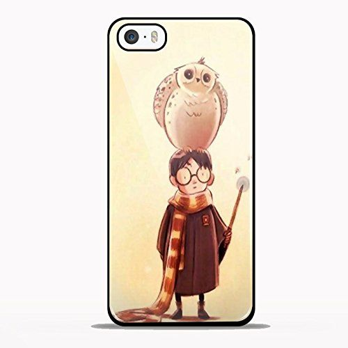 Harry potter and Hedwig Design GNO for iPhone 5/5s Black case