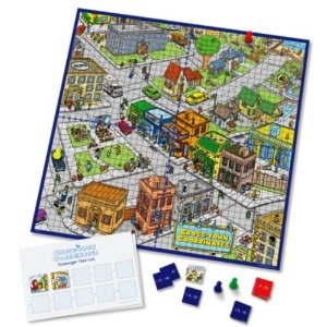Learning Resources Cross-town Co-ordinates Graphing Game: Amazon.co.uk: Toys & Games