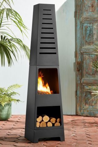 Keep your garden warmer for longer this spring/summer with our contemporary chiminea!