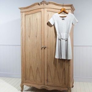 Storage doesn't have to be boring, take our word for it. Our Weathered Wardrobe by Frank Hudson is the perfect Armoire for storing your best party frocks. Handmade by master craftsman from ethically sourced hardwood this French Style Armoire is elegance personified with just the right amount of carved detailing to add a little luxury to your French Bedroom. As you have come to expect from Frank Hudson is is also finished by hand in a soft naturally aged wood effect and is perfect for many...