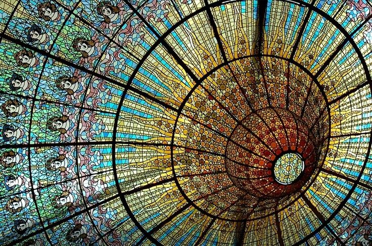 Palau de la Musica Catalana, Barcelona, Espanha