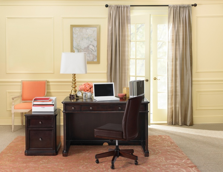 An executive-style collection for the traditional home office