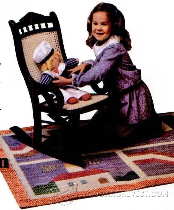 Victorian Rocking Chair - Children's Furniture Plans and Projects | WoodArchivist.com