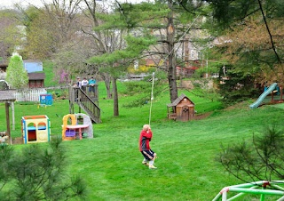 Backyard zip line project (how to)