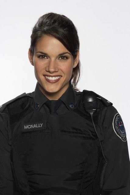 Missy Peregrym...actress from rookie blue and stick it