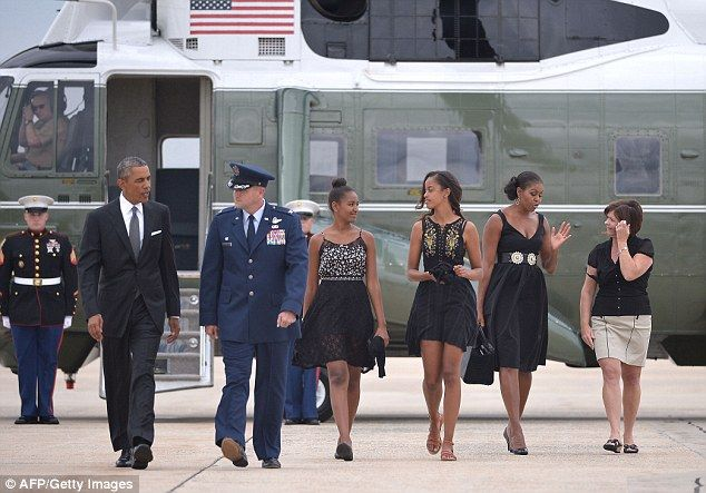 President Obama and first family attend White House assistant chef's nuptials on a busy Labor Day weekend