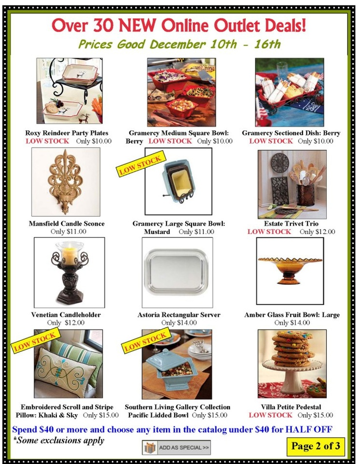 Willow House Southern Living At Home Decor Is Closing Get These Deals This