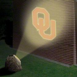 Oklahoma Sooners Logo Projection Rock
