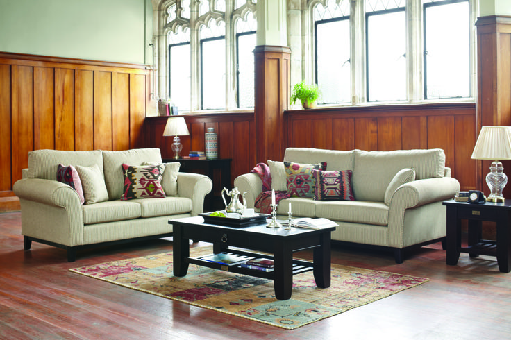 Edwardian 2 Piece Lounge Suite by Evan John Philp