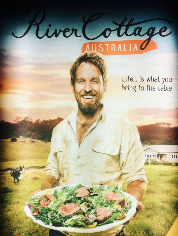 River Cottage Australia poster
