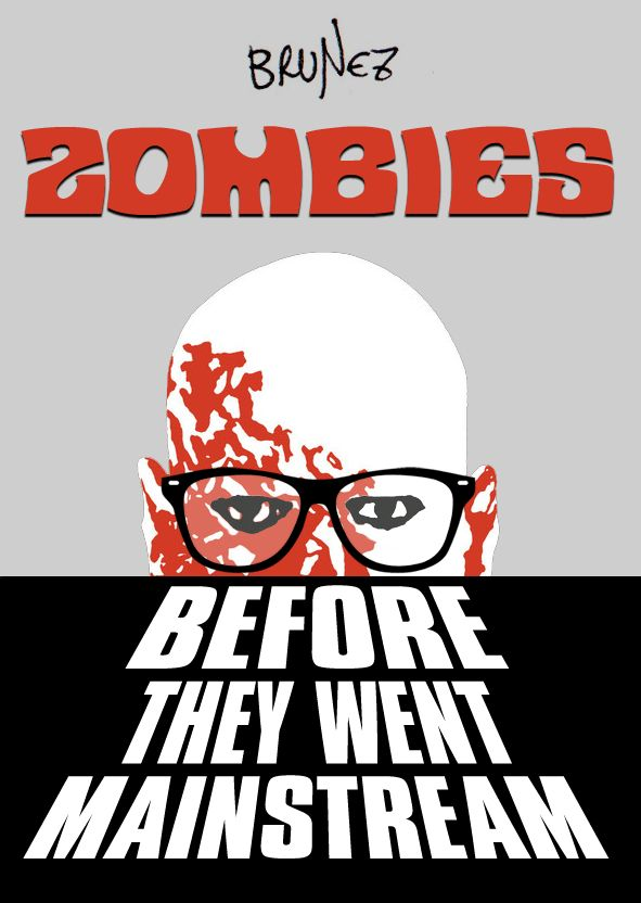 Cover of my fanzine about vintage zombie movies.