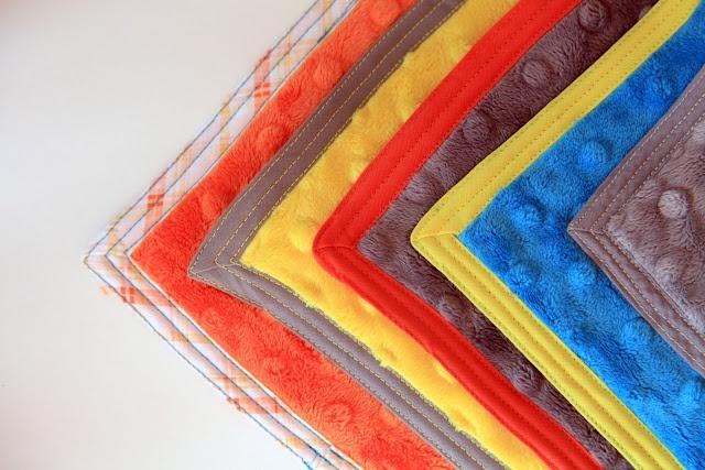 Diy Fleece Blanket With Binding Tape Edges Minky One One
