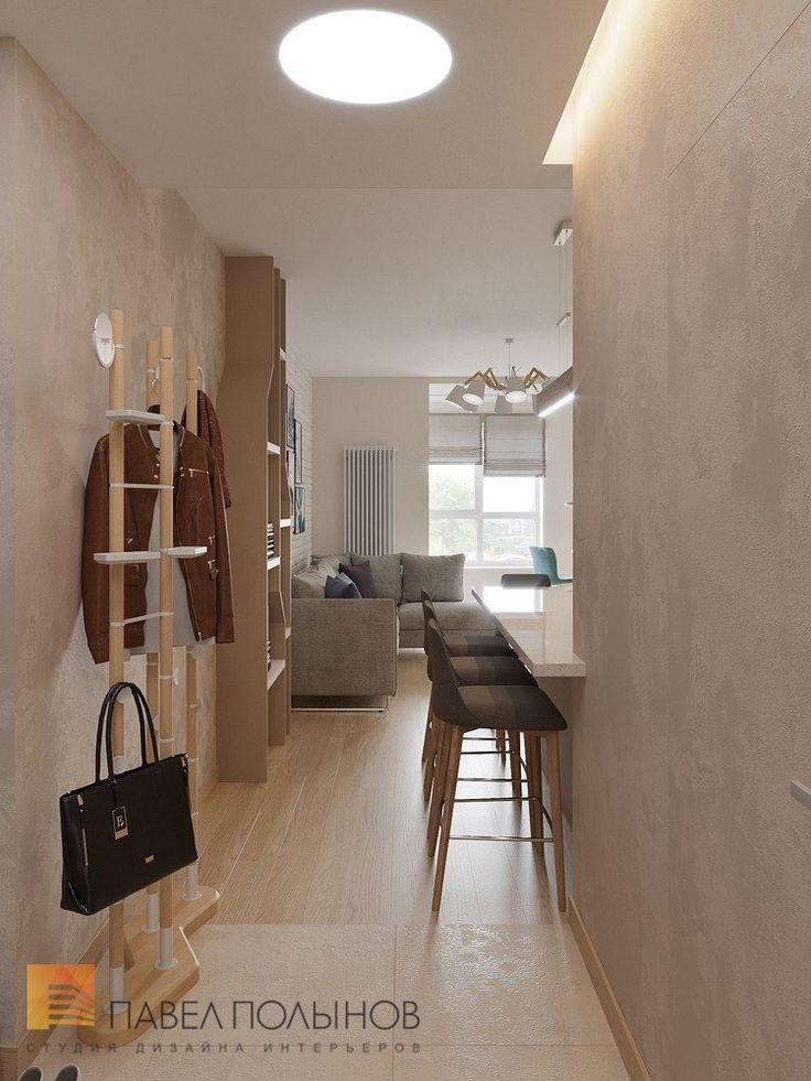 Фото прихожая из проекта «Дизайн квартиры-студии в современном стиле, ЖК «Времена года», 34 кв.м.»