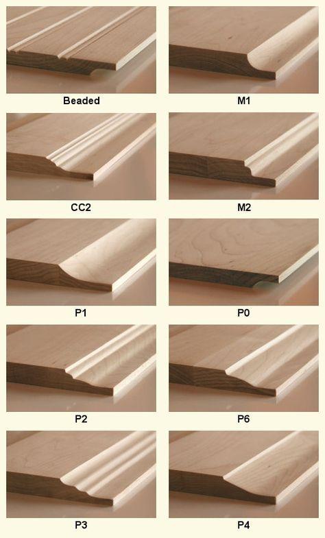 Wood Door Panel Profiles Cabinet Doors Depot Home
