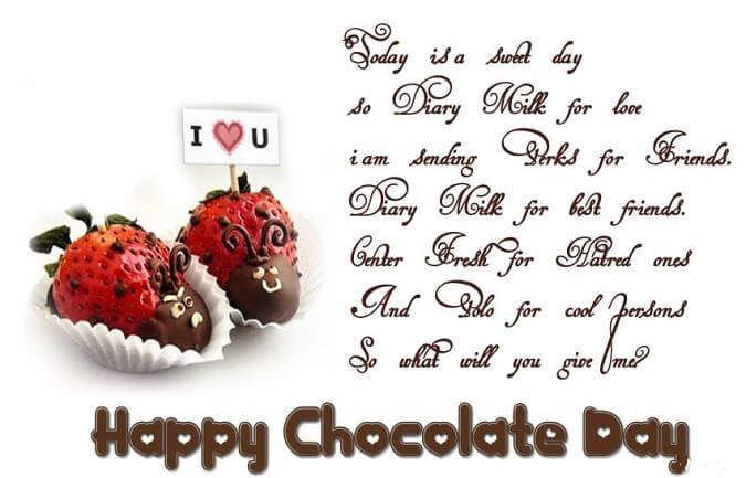 Happy Chocolate Day Greetings Wishes