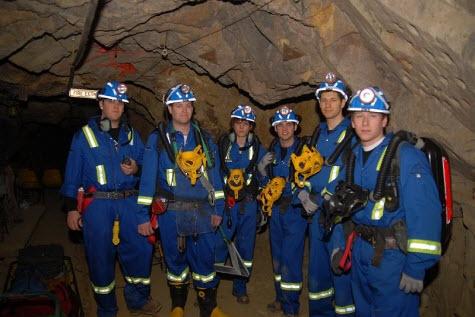 University of British Columbia Mine Rescue Teams