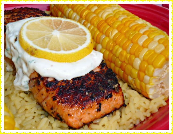 The Weekend Gourmet: Outdoor Dining with Beso del Sol Sangria...Featuring Seared Salmon al Fresco with Lemon-Basil Yogurt Sauce #IgotaBeso