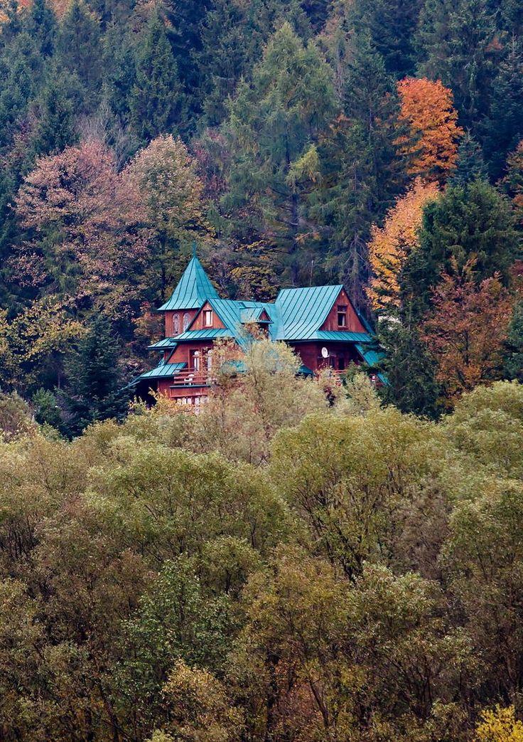 Cottage on the Dunajec River, Poland