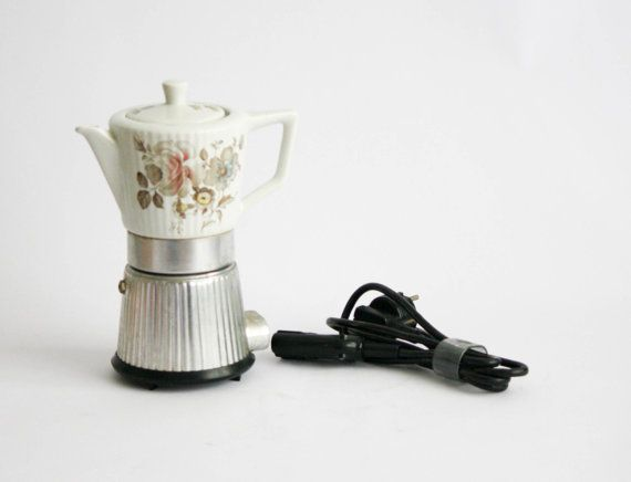 Girmi Vintage Electric Coffee Maker / Coffee Pot by DoubleRandC