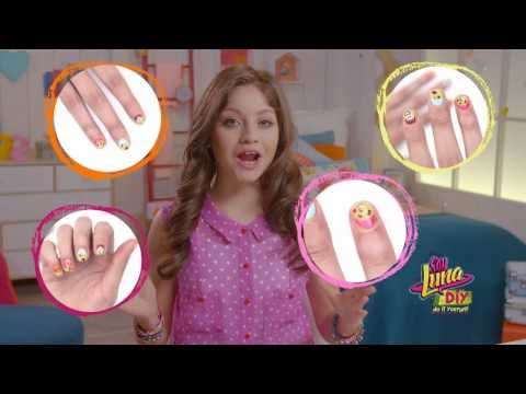 Soy Luna Do It Yourself: Nail art - YouTube
