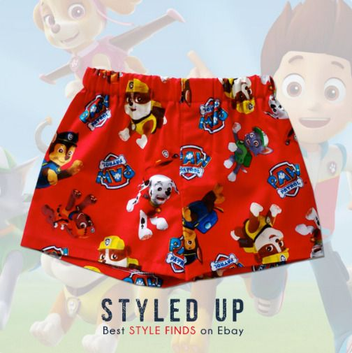 Paw Patrol Kids' Clothes Baby & Toddler Boys Boxers Briefs Toddler Underwear 12m #christmas #xmas #cartoons #PawPatrol #boy #boymom #kidsfashion #shopping #shorts #puppies #momlife #baby #children #childrenswear #clothes #cute