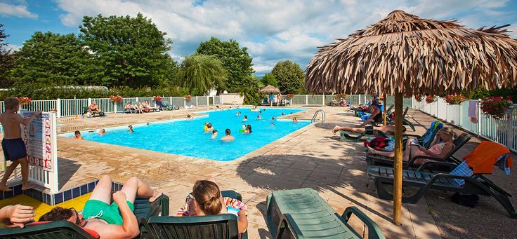 Piscine camping Coin tranquille