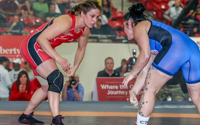 Adeline Gray named 2014 USA Wrestling Women's Wrestler of the Year