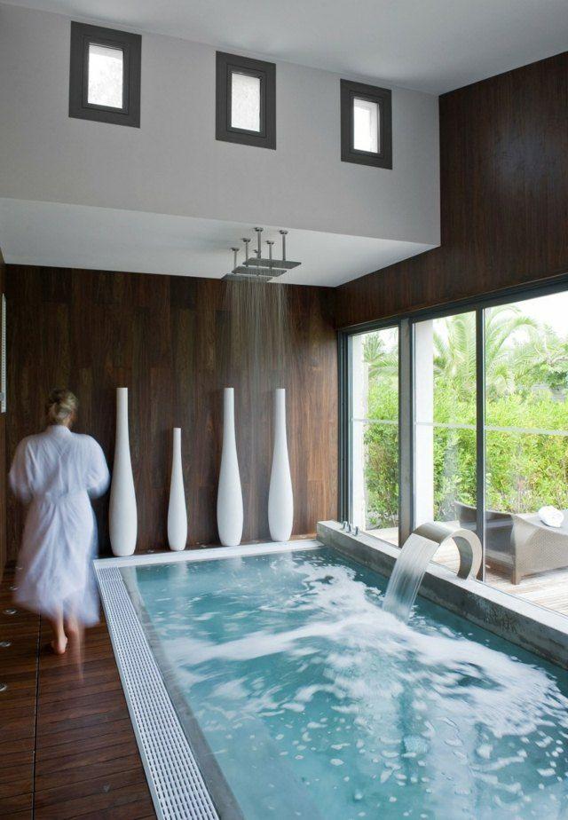 Oltre 1000 idee su deco piscine su pinterest piscine for Hotel avec piscine interieur