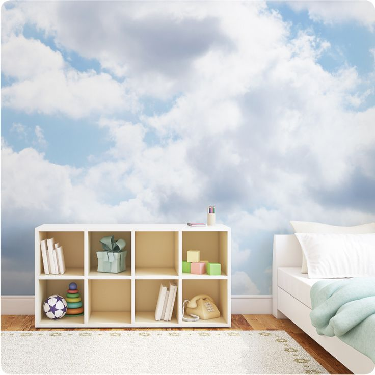 Create A Heavenly Room With Our New Clouds Removable Wallpaper Part 82