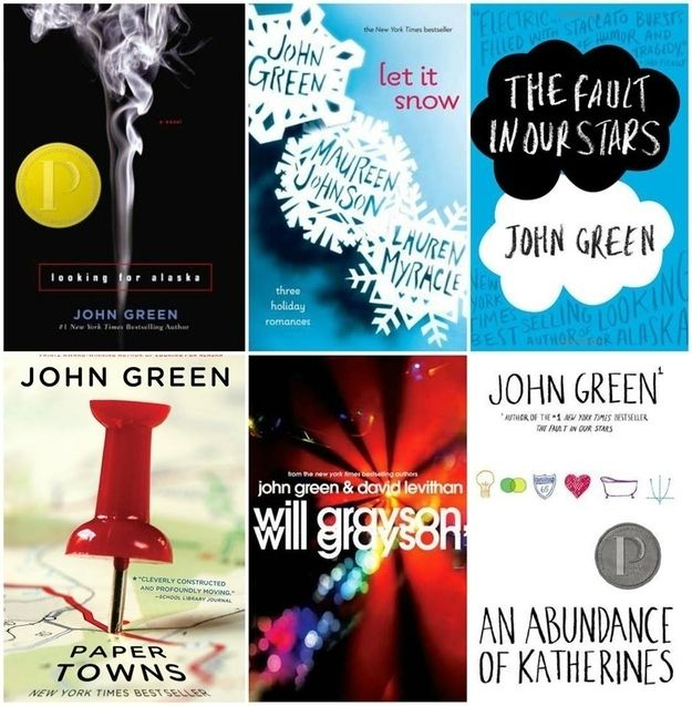John Green books | 31 Things Teens Think Are Cool These Days