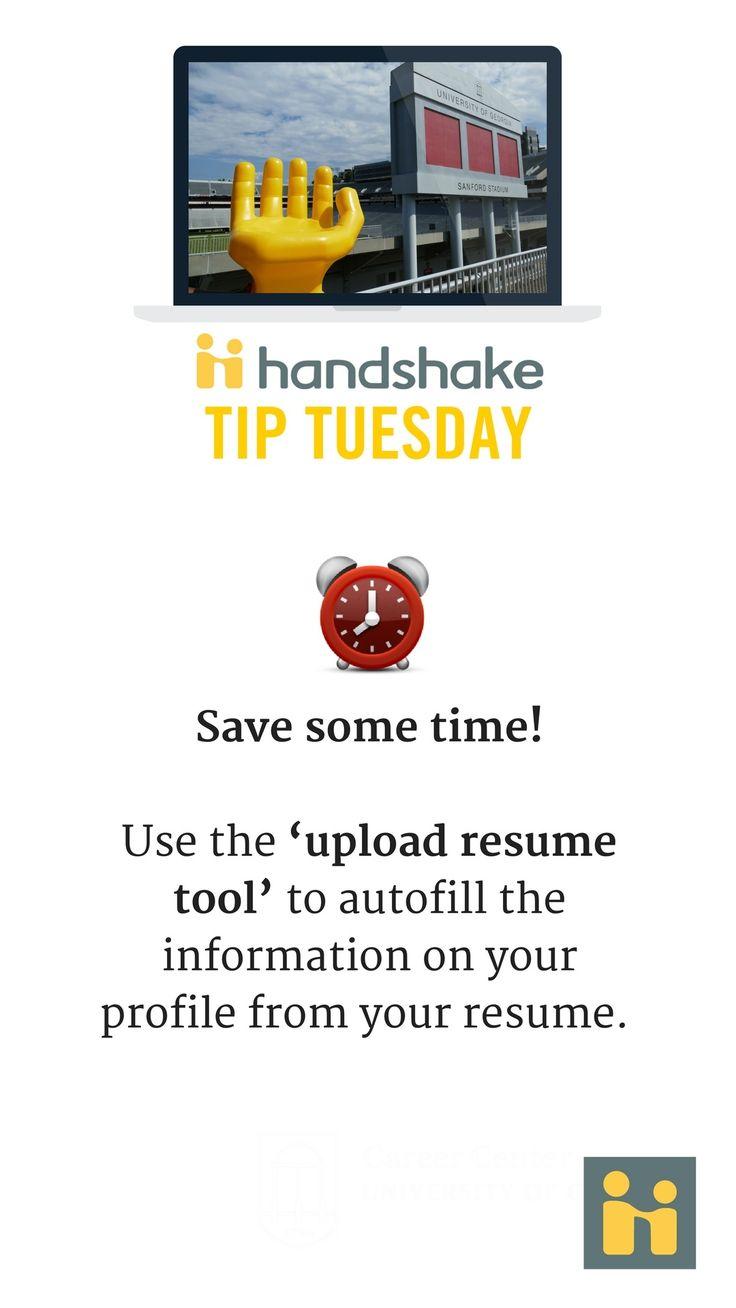 Pin by UGA Career Center on Handshake Tips Career