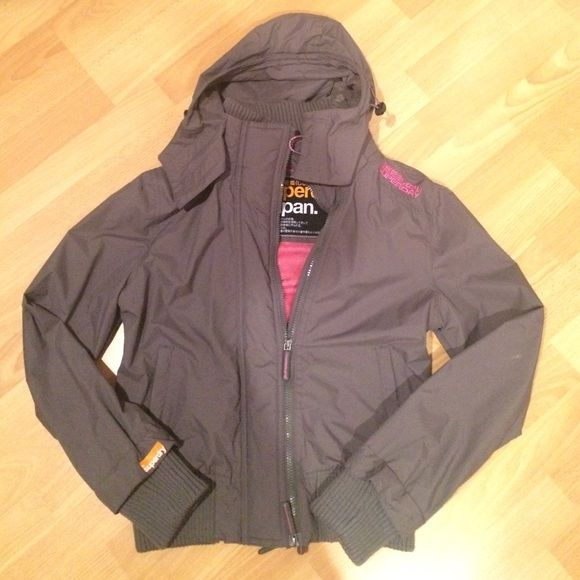 Superdry Jacket Women's The Windbomber jacket. Only worn a couple times. Like new condition. Superdry Jackets & Coats